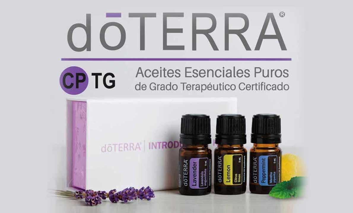 dōTERRA® Aceites Esenciales Puros de Grado Terapéutico Certificado